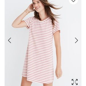 Madewell Striped Retreat Dress